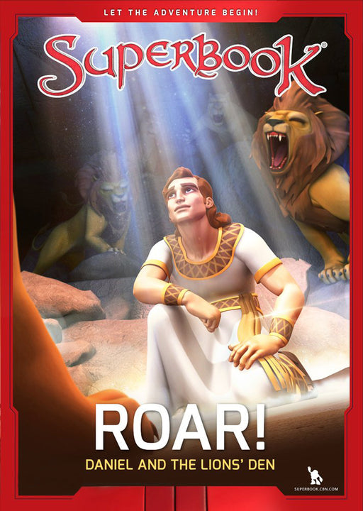Superbook - Roar! (Book) : Daniel and the Lion's Den