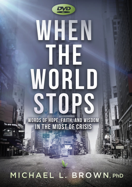 DVD - When the World Stops : Words of Hope, Faith, and Wisdom in the Midst of Crisis