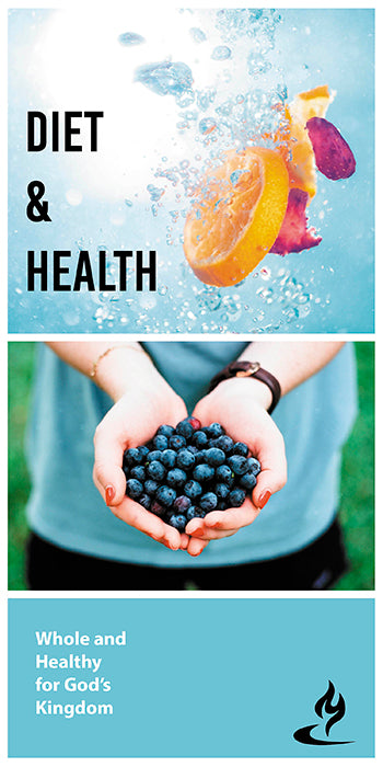 eBook019 - DIET & HEALTH : Whole and Healthy for God's Kingdom