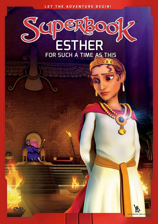 Superbook DVD - Esther for Such a Time as This