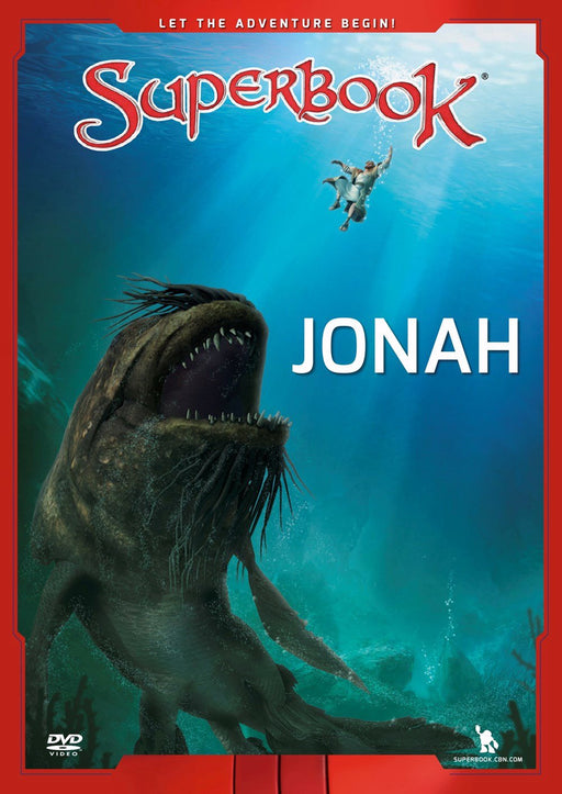 Superbook DVD - Jonah