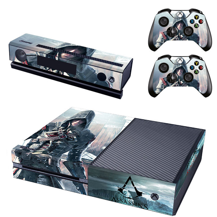 Assassins Creed Vinyl Cover Skin Sticker For Xbox One Kinect 2