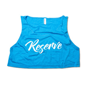 RESERVE CROPPED TANK - WOMENS