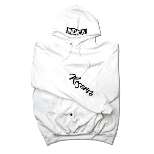 INDICA RESERVE HOODIE - WHITE