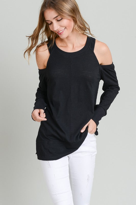 "Giving the ""Cold Shoulder"" Top"