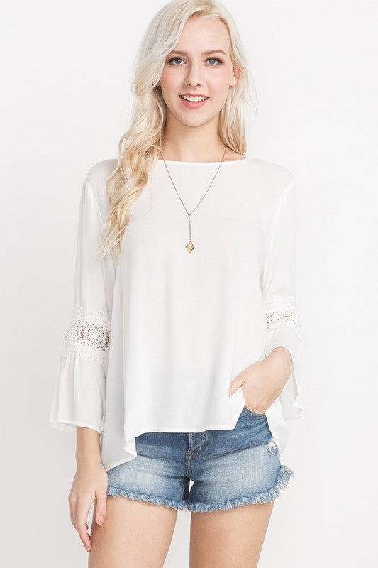 Carrie Bell Sleeve Top