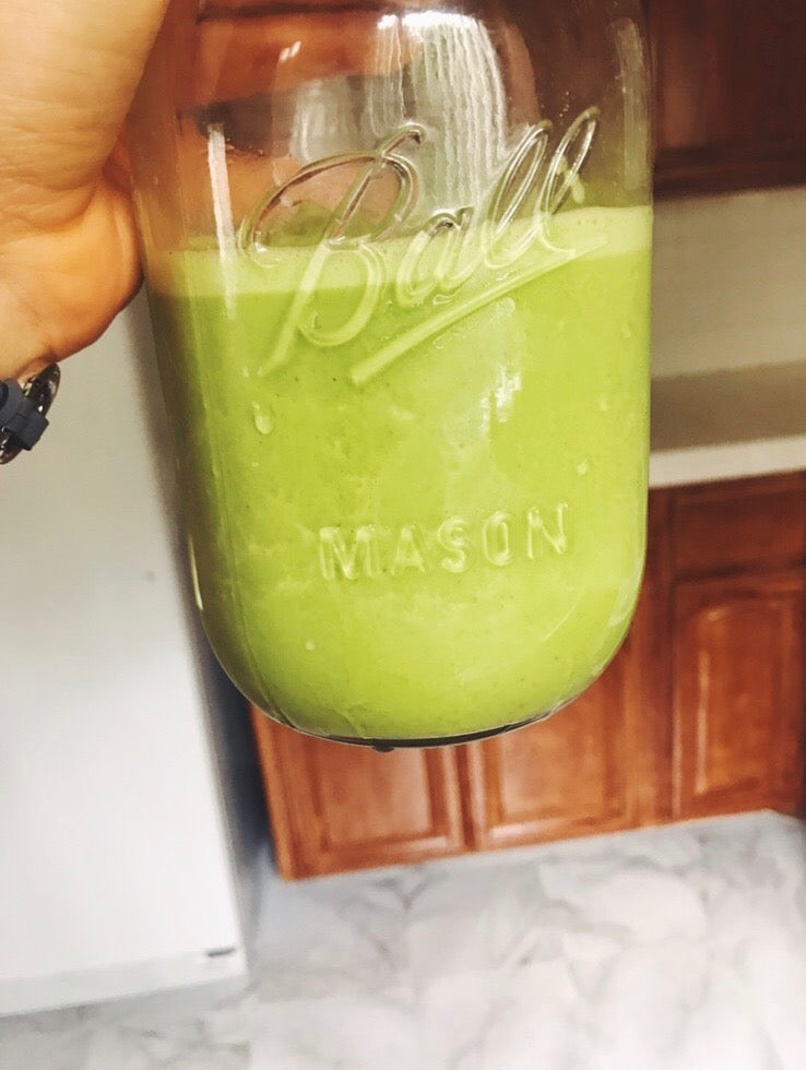 Spiced Almond Baahtcha Green Smoothie