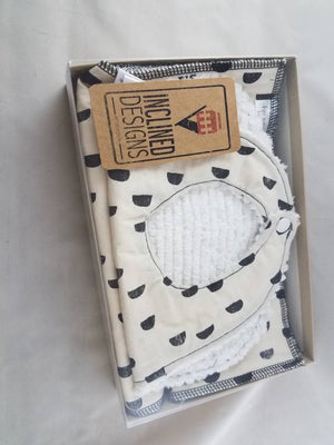 Bib and Burp Cloth Set