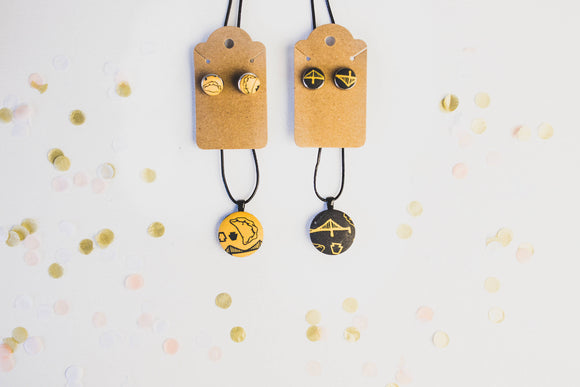 Burgh Bits Earrings or Necklace