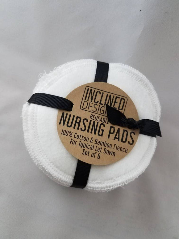 Bamboo Fleece Reusable Nursing Pads