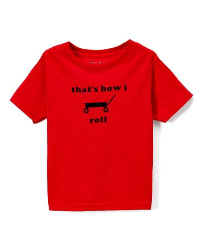 That's How I Roll Toddler Tee