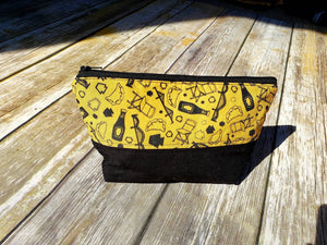 Pittsburgh Burgh Bits Zipper Pouch