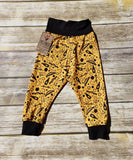 Pittsburgh Infant and Toddler Jogger Pant- Burgh Bits Pants