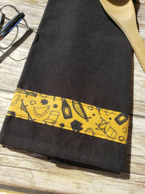 Pittsburgh Tea Towel- Burgh Bits Hand towel