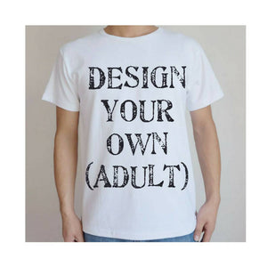 Design Your Own Adult Tee