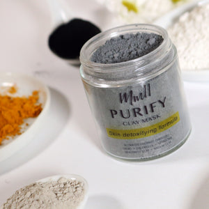 Purify - Detoxifying Activated Charcoal Clay Mask
