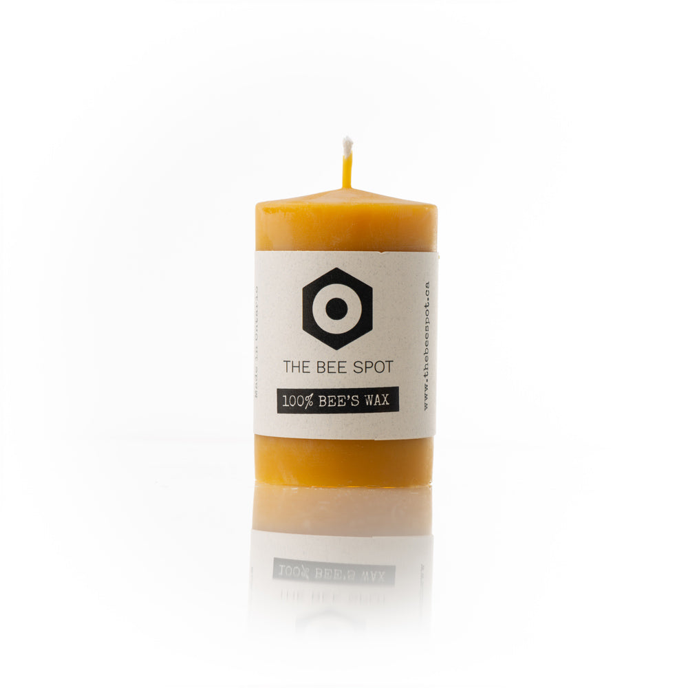 Smooth Pillar Candle - 3
