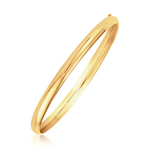 Classic Bangle in 14K Yellow Gold (5.0mm)