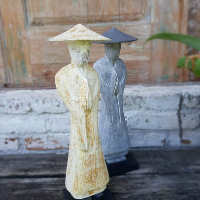 Wooden Figure Decor