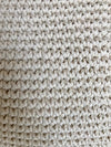 Knitted Macrame Cushion With Shell Lines & Fringes - Canggu & Co