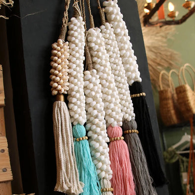 Beautiful Long Sea Shell Tassels - Canggu & Co