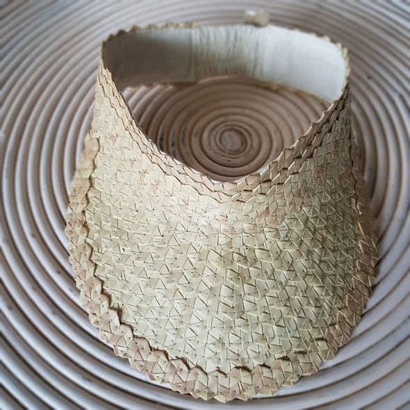 Natural Palm Leaf Visors - Canggu & Co