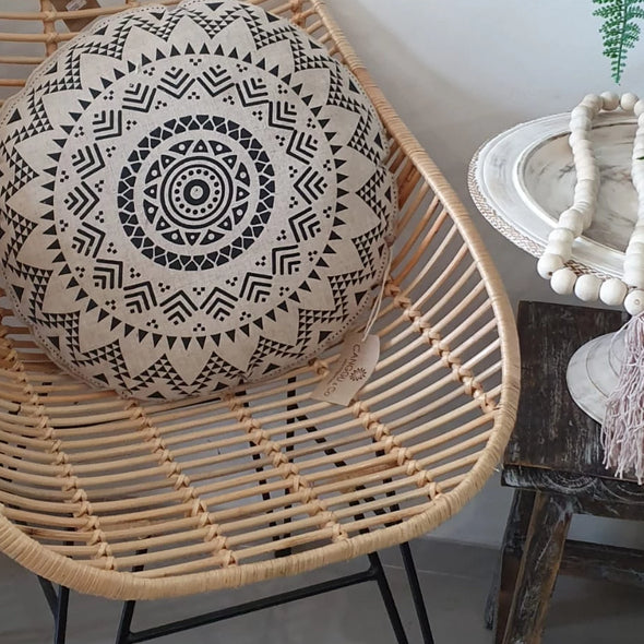 Simple Rattan Chair - Canggu & Co