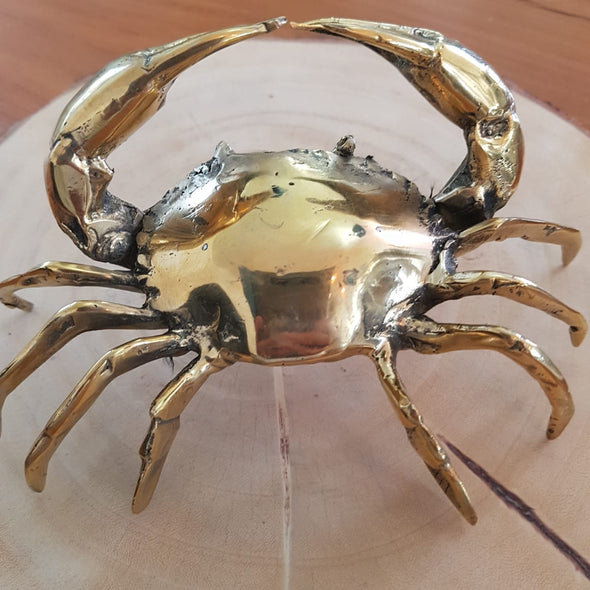 Brass Figurine Crabs