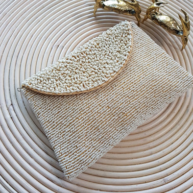 Beaded Clutches With Mixed Patterns And Short Straps - Canggu & Co