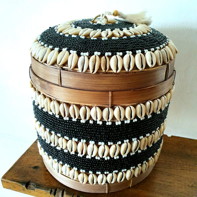 Black Beads, Shells & Bamboo Box Set