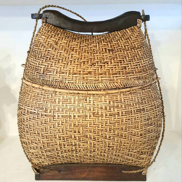 Traditional Balinese Rattan Basket