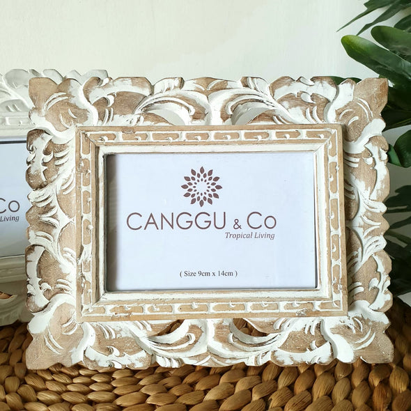 Wood Carved Ornate Style Photo Frames