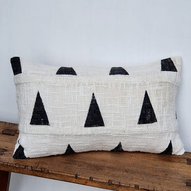 Black Diamond Motif Cushions