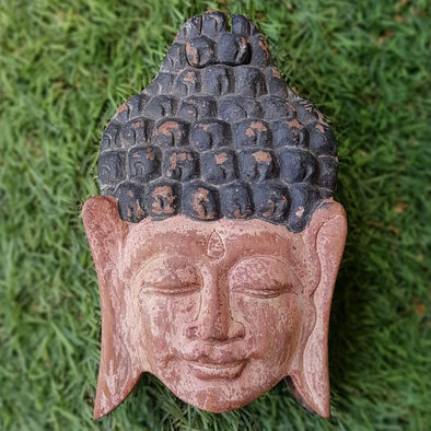 Antique Carved Wooden Buddha Secret Box - Canggu & Co
