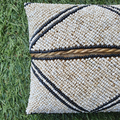 Multi-Color Beaded Clutch - Canggu & Co