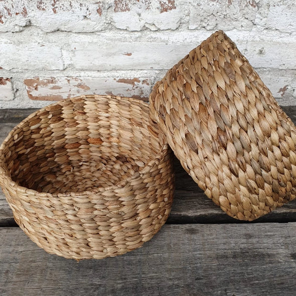 Bowl Shaped Banana Leaf Basket - Canggu & Co