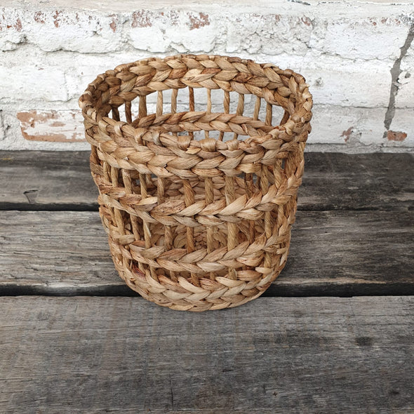 Round Banana Leaf Baskets - Canggu & Co
