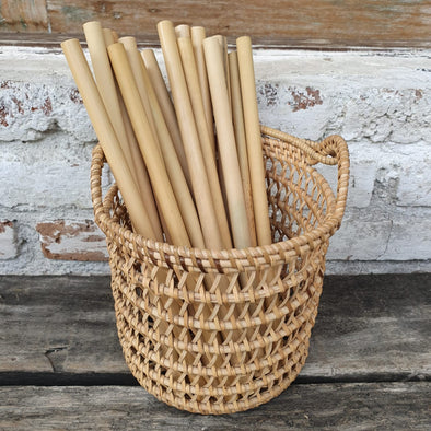 Natural Bamboo Drinking Straws - Canggu & Co