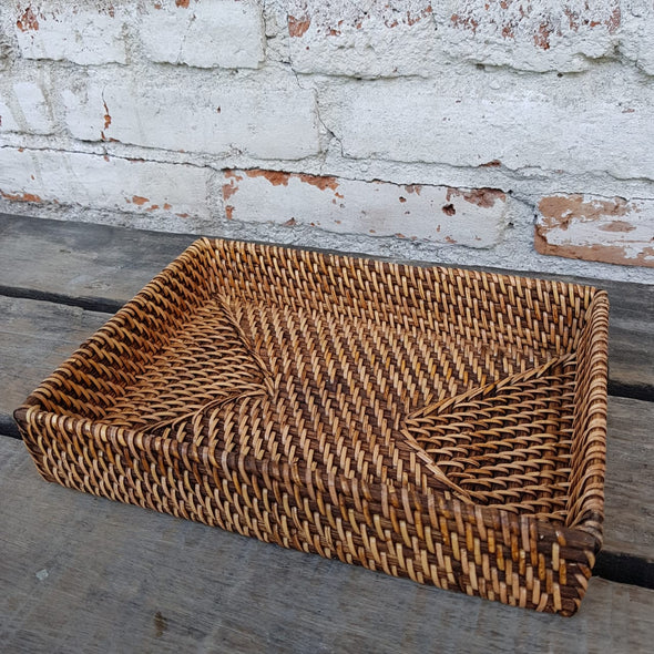 Small Rattan Trays - Canggu & Co