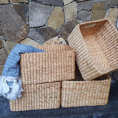 Natural Banana Leaf Storage Baskets - Canggu & Co