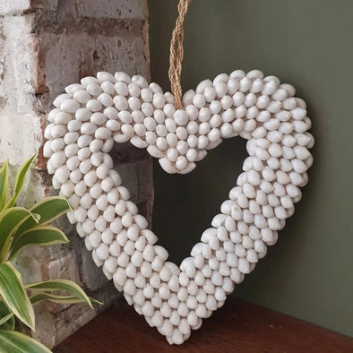 Heart Shaped Sea Shell Decor - Canggu & Co