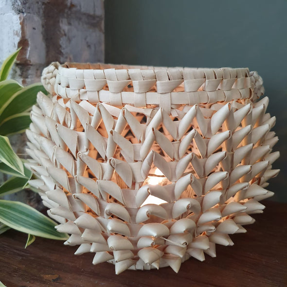 Palm Leaf Candle Holder - Canggu & Co