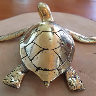 Brass Figurine Sea Turtles - Canggu & Co