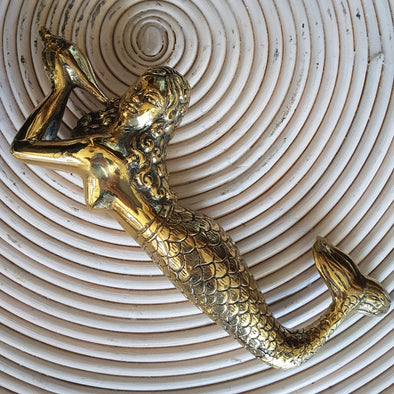 Brass Figurine Mermaids - Canggu & Co