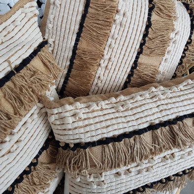 Stylish Multi-Color Natural Linen Cotton Cushions