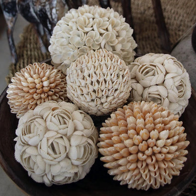 Flower Style Sea Shell Balls - Canggu & Co