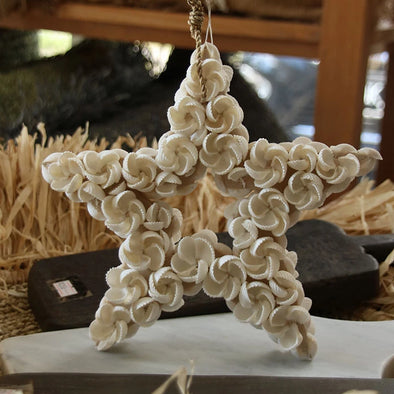 Star Shaped Shell Decor