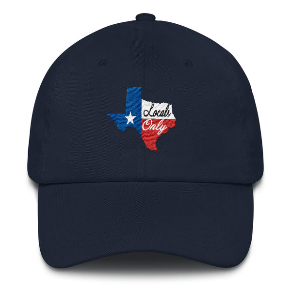 Locals Only (Texas) Dad Hat