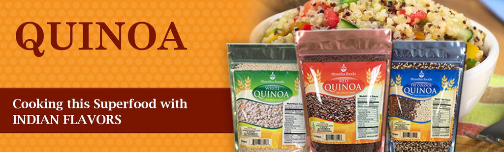 Quinoa can be part of Indian food