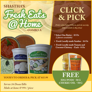 Shastha Fresh Eats@Home Combo A